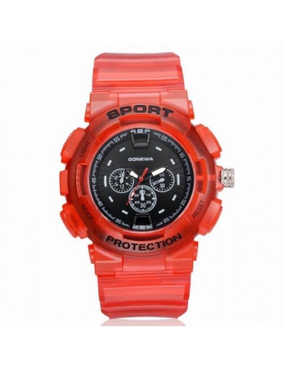 GON045 Men Silicon Band Analog Quartz Sport Watch