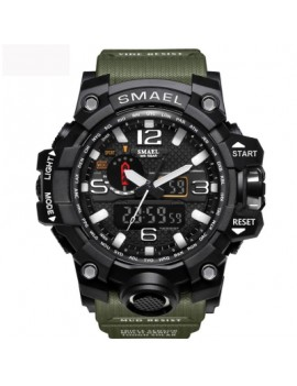 Mens Sports Watches LED Digital Clock Fashion Casual Watch Digital 1545 Relogio Militar Clock Men Sp